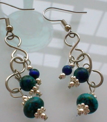 women siver market blue unicef jewelry handcrafted dangle and contemporary for sparkling sterling earrings unique topaz dew