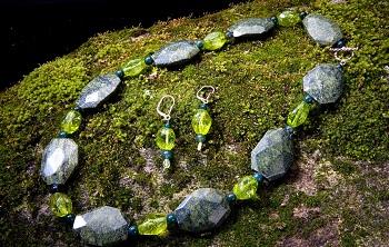 50)Russian Serp.-Peridot Crystal