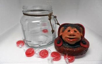 Whimsical Jar