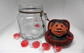 Whimsical Jar