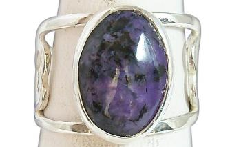 Puple Handmade Ring