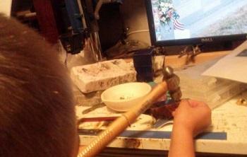 teaching childten art