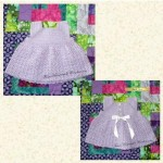 Baby Dresses 0 to 3 Months Style 03 D2 6 Colors Available bu craftsgalore