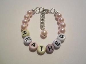 handmade newborn jewelry