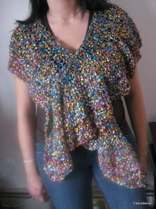 Lightweight Trellis Shawl