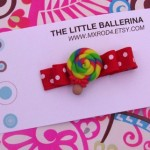 Polymer Clay Lollipop Clippy
