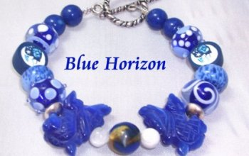 Blue-Horizon-Lampwork-Moonstone-and-Sterling-Bracelet