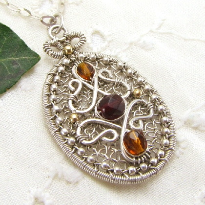 Handmade Pendant by Gravel Road