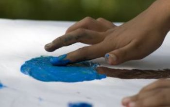 Handmade Finger Painting