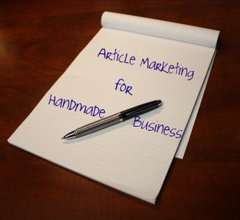 article marketing for handmade business