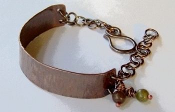 Copper half cuff