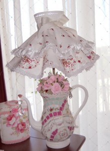 Handmade Mosaic Lamp