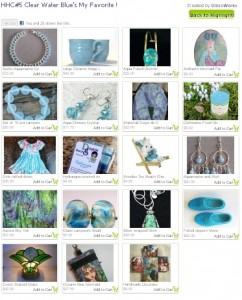 Blue Water Handmade Inspiration