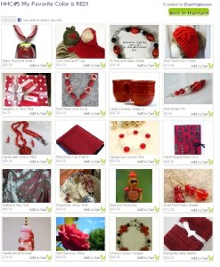 Red Handmade Inspiration