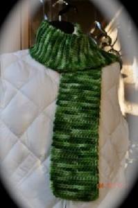 Handmade Green Scarf