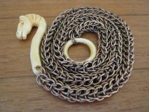handmade chainmaillle lanyard