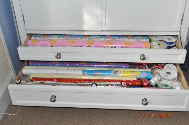 Craft Cabinet Bottom Drawers
