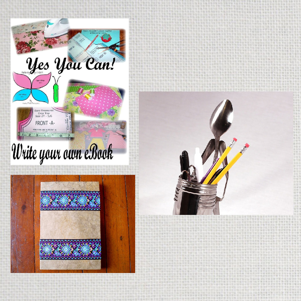 Handmade Writing Collage