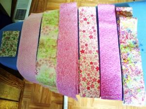 Handmade Quilt Strips