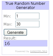 Random Number Generator