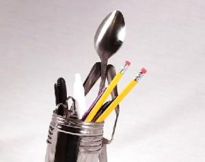 Forked Up pencil holder