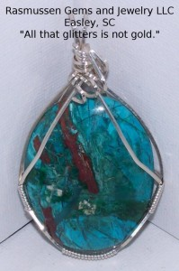 Handmade Wire Wrapped Pendant