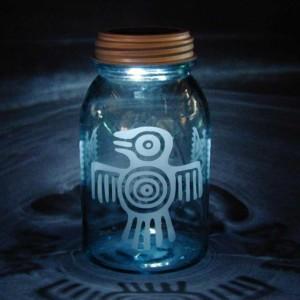 Thunderbird Solar Jar