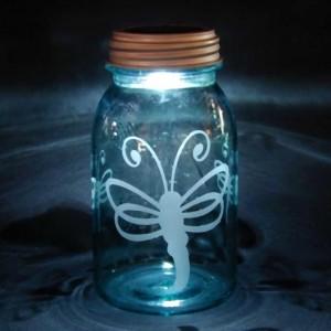 Dragonfly Solar Jar