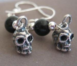 Handmade Silver Skulls