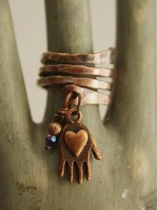 handmade finger ring