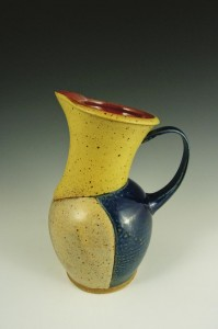 drink pitcher handmade pottery