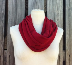 red infinity scarf