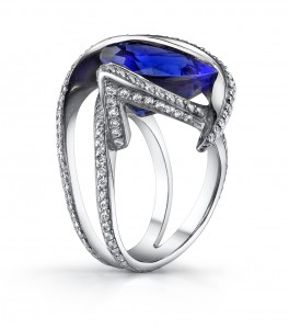 Tanzanite ring three
