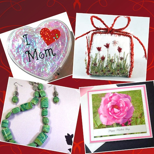 Discover Handmade items by ElectronicGirl, NellsEmbroidery, TamsJewelry, BethiesCards