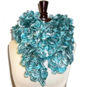 handmade ruffle scarf