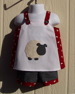 Applique Sheep