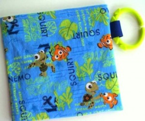 Pacifier Pouch Ouch Pouch Reusable Snack Bag Nemo by PineappleSpiceGirl