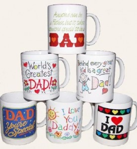 Personalized Mugs For Dads by HandmadeCreationsbyShelly