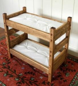 american girl doll bunkbed handmade