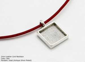 Digits of PI Necklace With Loupe by MicroPendants