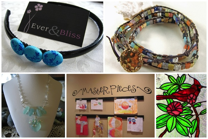 New handmade items are discovered each week from Handmade Artists' Shop