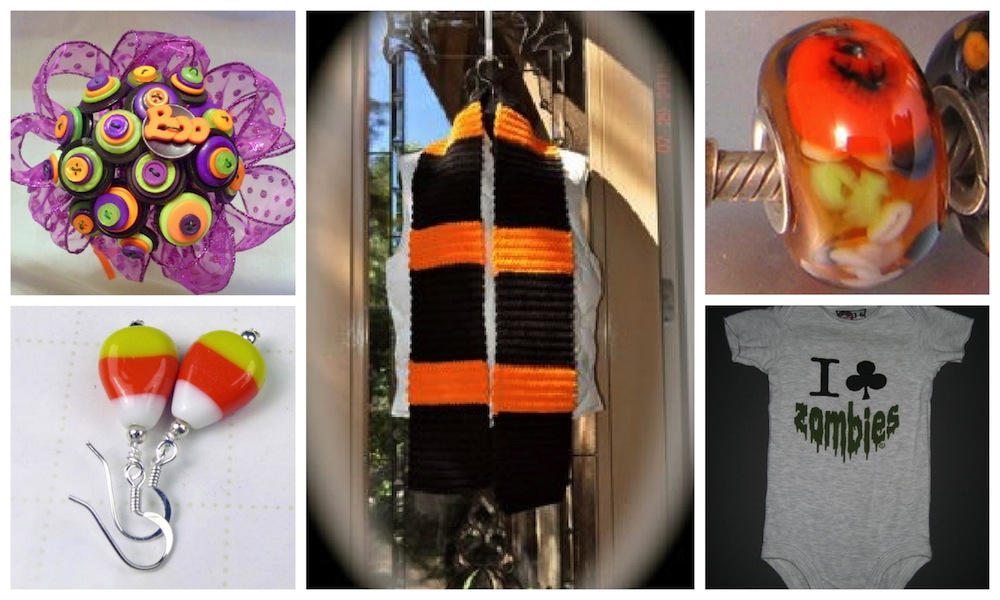 Halloween products are featured in Discover Handmade Halloween