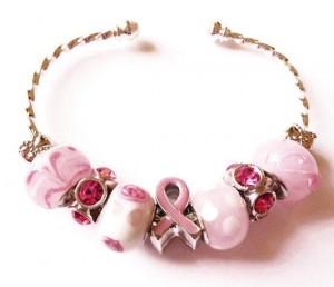 Think Pink Bracelet by JanetT161