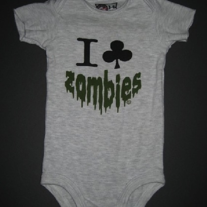 Baby Halloween outfit I club Zombies
