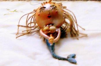 handmade mermaid