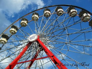 art photography farris wheel