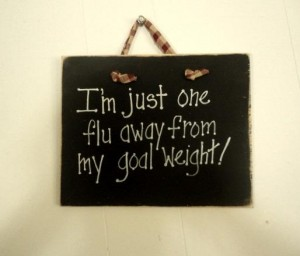 diet joke plaque