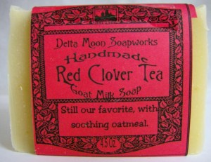 Red Clover Handmade Soap