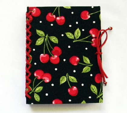Cherry Handbound Journal