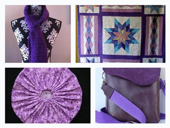 Discovering Handmade Purple